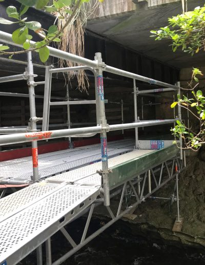 All Area Scaffolding - Kaiwharawhara Bridge
