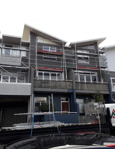 All Area Scaffolding - Wellington apartments